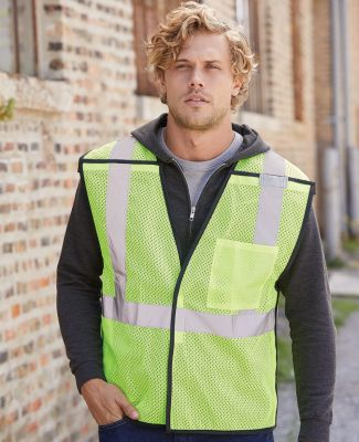 ML Kishigo 1535-1536 Economy Single Pocket Breakaway Vest Catalog