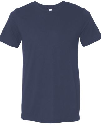 BELLA+CANVAS 3413 Unisex Howard Tri-blend T-shirt NAVY TRIBLEND