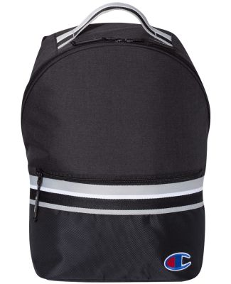 Champion Clothing CS1006 23L Striped Backpack Black/ Black