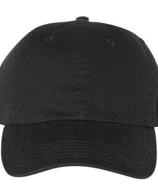 Champion Clothing CS4000 Washed Twill Dad Cap Black