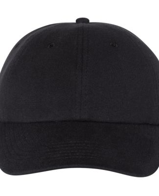Champion Clothing CS4001 Jersey Knit Dad Cap Black