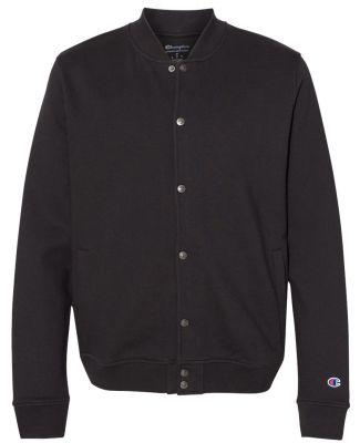 Champion Clothing CO100 Unisex Bomber Jacket Black