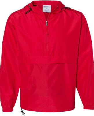 Champion Clothing CO200 Packable Jacket Scarlet