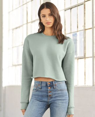 Bella + Canvas 7503 Women's Cropped Crew Fleece Catalog