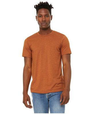 Bella + Canvas 3301 Unisex Sueded Tee HEATHER AUTUMN