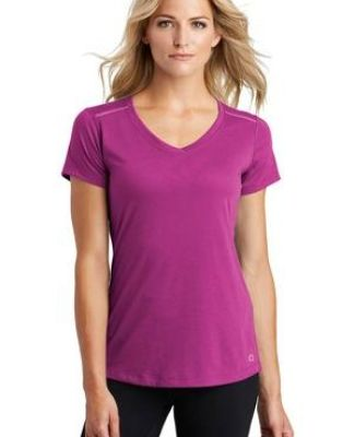 OGIO Endurance LOE337 OGIO  ENDURANCE Ladies Peak V-Neck Tee Catalog