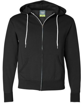 Independent Trading Co. - Unisex Full-Zip Hooded S Black