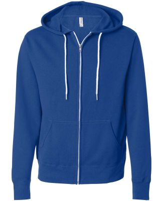 Independent Trading Co. - Unisex Full-Zip Hooded S Cobalt