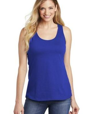 District Clothing DT6302 District    Women's V.I.T.    Gathered Back Tank Catalog