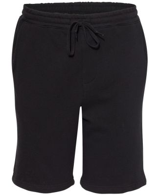 Independent Trading Co. IND20SRT Midweight Fleece  Black