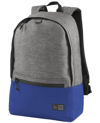 New Era NEB201   Legacy Backpack Grey Tw He/Roy