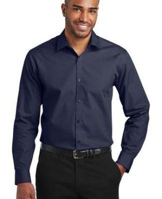 Port Authority Clothing W103 Port Authority  Slim Fit Carefree Poplin Shirt Catalog