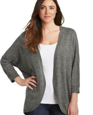 Port Authority Clothing LSW416 Port Authority  Ladies Marled Cocoon Sweater Catalog