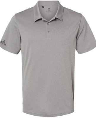 Adidas Golf Clothing A240 Heathered Sport Shirt Black Heather