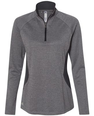 Adidas Golf Clothing A281 Women's Lightweight UPF  Black Heather/ Carbon