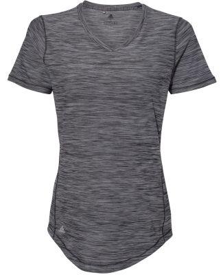 Adidas Golf Clothing A373 Women's Tech Tee Black Melange