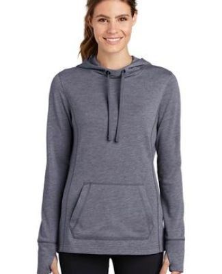 Sport Tek LST296 Sport-Tek  Ladies PosiCharge  Tri-Blend Wicking Fleece Hooded Pullover Catalog