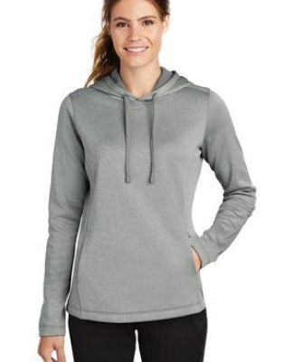 Sport Tek LST264 Sport-Tek  Ladies PosiCharge  Sport-Wick  Heather Fleece Hooded Pullover Catalog