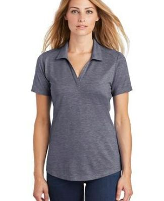 Sport Tek LST405 Sport-Tek  Ladies PosiCharge  Tri-Blend Wicking Polo Catalog