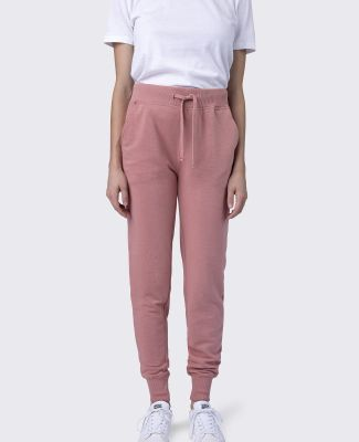 Cotton Heritage W7280 Women's French Terry Jogger Dusty Rose