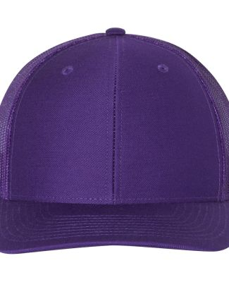 Richardson Hats 112 Snapback Trucker Cap Purple