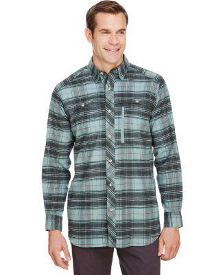 Backpacker BP7091 Men's Stretch Flannel Shirt LIGHT TEAL
