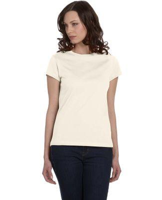 Bella + Canvas 620DX Ladies' Organic Jersey Short- NATURAL