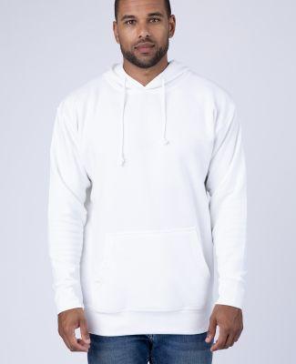 Cotton Heritage U2690 Sponge Fleece Pullover Hoodi White