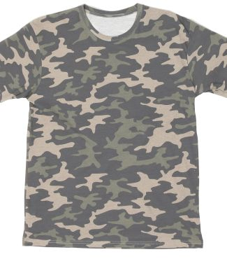 Cotton Heritage YC1040C Youth T-Shirt Khaki Camo