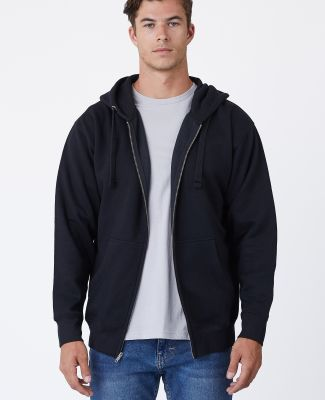 Cotton Heritage M2781 Premium Full-Zip Hoodie (New Black