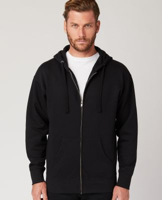 Cotton Heritage M2781 Premium Full-Zip Hoodie (New Black