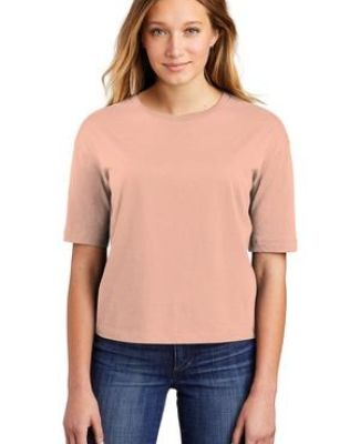 District Clothing DT6402 District    Women's V.I.T.    Boxy Tee Catalog