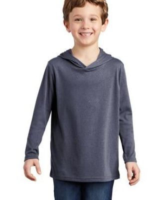 District Clothing DT139Y District    Youth Perfect Tri    Long Sleeve Hoodie Catalog