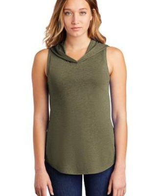 District Clothing DT1375 District    Women's Perfect Tri    Sleeveless Hoodie Catalog