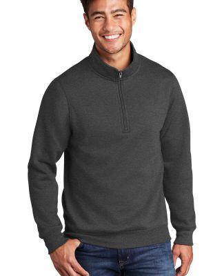 Port & Company PC78Q     Core Fleece 1/4-Zip Pullo Dark Hthr Grey