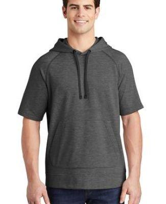 Sport Tek ST297 Sport-Tek    PosiCharge    Tri-Blend Wicking Fleece Short Sleeve Hooded Pullover Catalog