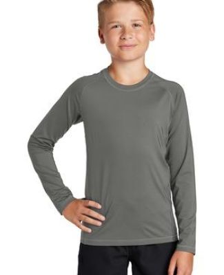 Sport Tek YST470LS Sport-Tek    Youth Long Sleeve Rashguard Tee Catalog