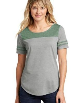 Sport Tek LST403 Sport-Tek    Ladies PosiCharge    Tri-Blend Wicking Fan Tee Catalog