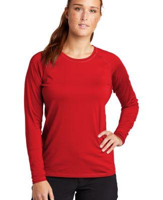 Sport Tek LST470LS Sport-Tek    Ladies Long Sleeve True Red