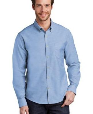 Port Authority Clothing S651 Port Authority     Untucked Fit SuperPro    Oxford Catalog
