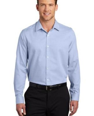 Port Authority Clothing W645 Port Authority    Pincheck Easy Care Shirt Catalog