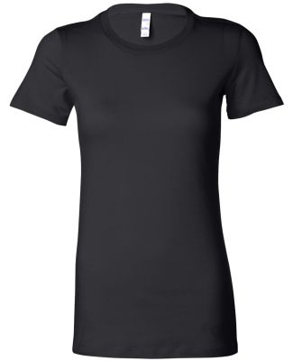 BELLA 6004 Womens Favorite T-Shirt BLACK