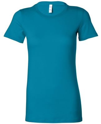BELLA 6004 Womens Favorite T-Shirt AQUA