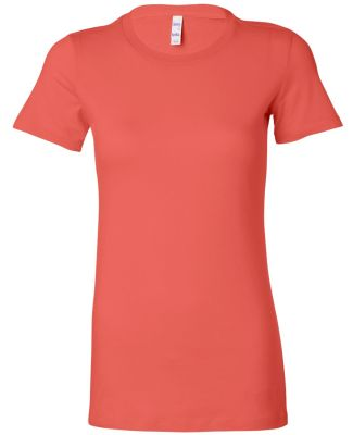 BELLA 6004 Womens Favorite T-Shirt CORAL