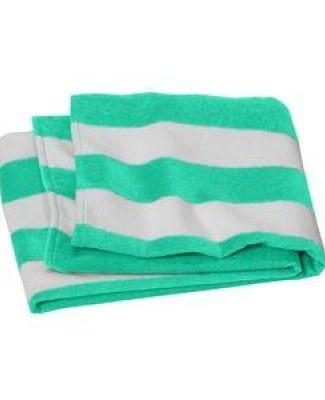 Port Authority Clothing PT45 Port Authority    Value Cabana Stripe Beach Towel Catalog