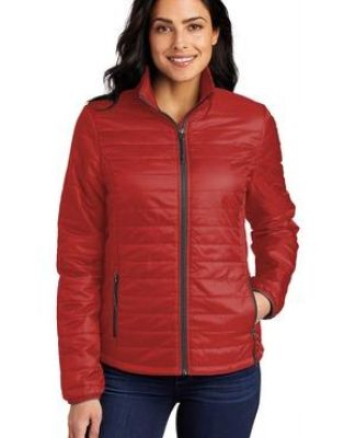 Port Authority Clothing L850 Port Authority   Ladies Packable Puffy Jacket Catalog