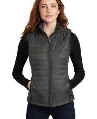 Port Authority Clothing L851 Port Authority    Ladies Packable Puffy Vest Catalog