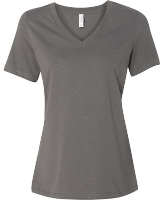 BELLA 6405 Ladies Relaxed V-Neck T-shirt ASPHALT