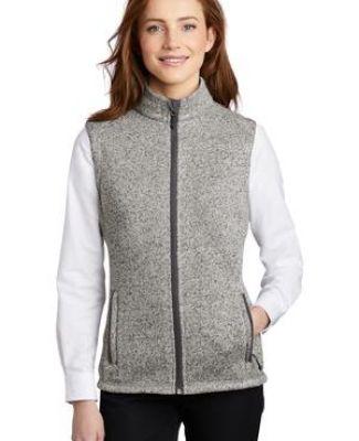 Port Authority Clothing L236 Port Authority    Ladies Sweater Fleece Vest Catalog