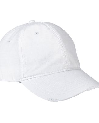 Distressed Image Maker Cap White